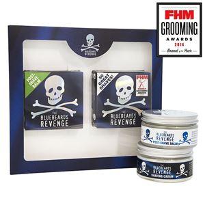 Afbeelding van NIEUW: The Bluebeards Revenge Shaving Cream & Post-Shave Balm Kit