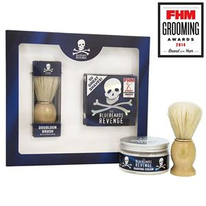 Afbeelding van NIEUW: The Bluebeards Revenge Shaving Cream & Doubloon Brush Kit